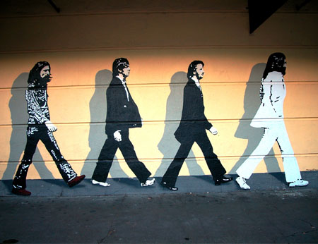 Gregg payne murals for Abbey road wall mural